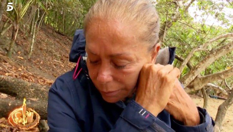 Isabel Pantoja llorando   Foto: telecinco.es