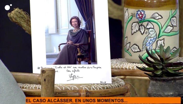 La felicitación de la Reina Sofía / Cuatro.com