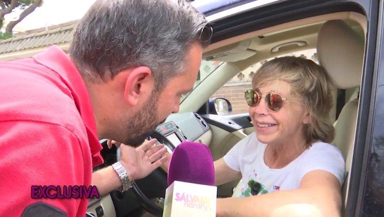 Marta Roca hablando con Kike Calleja / Telecinco.es