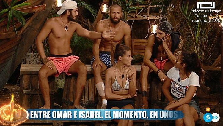 Omar piensa que Dakota es una veleta interesada | Foto: Telecinco.es