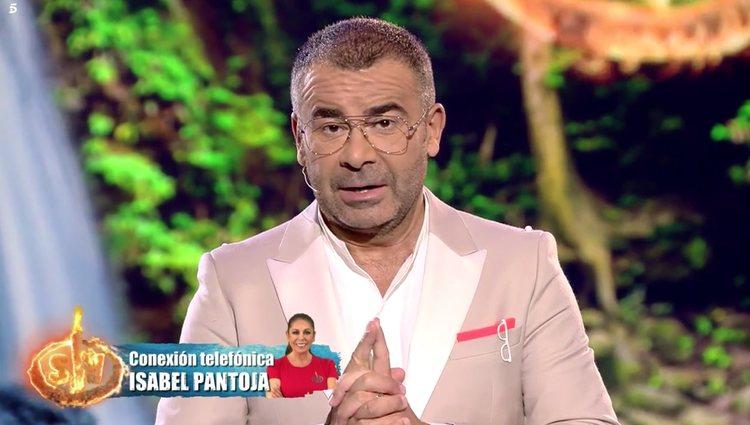 Isabel Pantoja entró en directo a través de una llamada telefónica | Foto: Telecinco.es