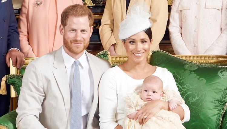 Los Duques de Sussex con su hijo Archie / Chris Allerton /©SussexRoyal