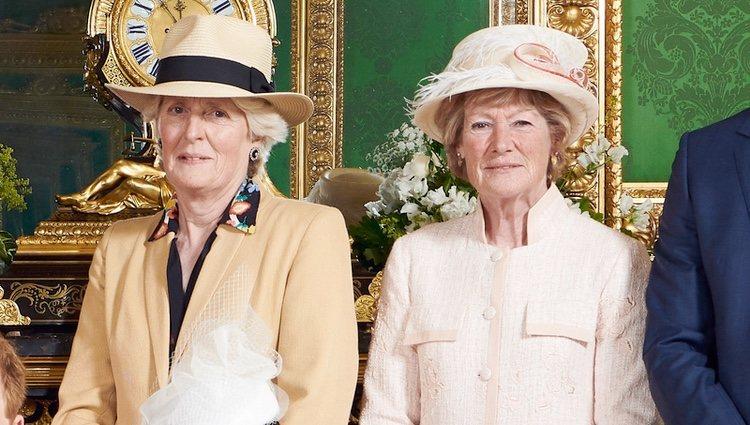 Las hermanas de Lady Di en el bautizo de Archie Harrison