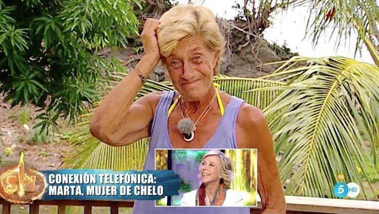 Chelo está muy enamorada de Marta | Telecinco.es