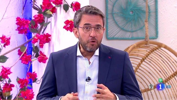 Máximo Huerta hablando de sus días de Ministro / RTVE.es