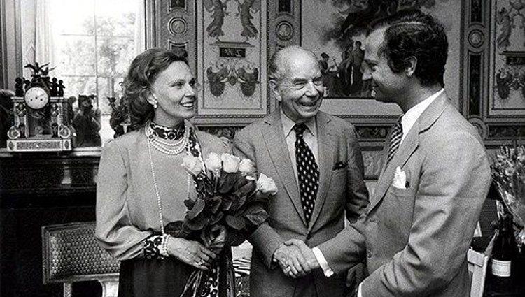 Marianne y Sigvard Bernadotte con el Rey Carlos XVI Gustavo de Suecia   Pinterest