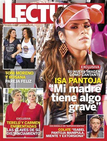 Chabelita Pantoja en la portada de Lecturas