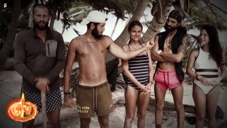 Omar Montes da los nombres de sus finalistas en 'Supervivientes: Conexión Honduras' Foto: Telecinco