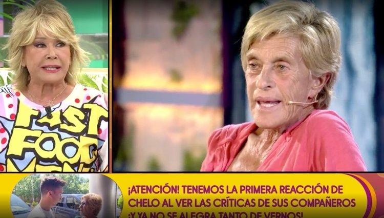 Mila Ximénez opina sobre Chelo García Cortés / Foto: Telecinco.es