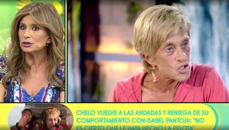 Gema López da su versión de los hechos en 'Sálvame' / Foto: Telecinco.es