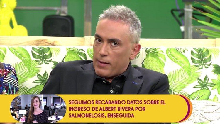 Kiko Hernández tras conocer las declaraciones de Chelo