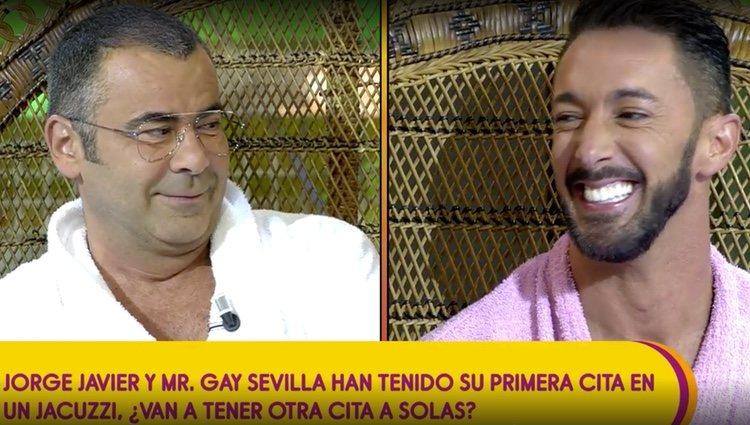 Jorge Javier y Jesús Rodríguez deciden si habrá segunda cita / Foto: Telecinco.es