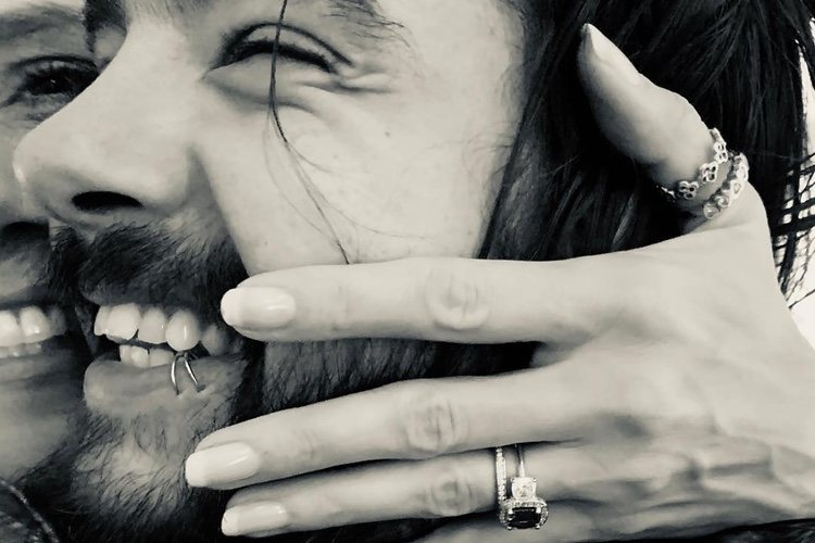 La foto del anillo de compromiso de Heidi Klum y Tom Kaulitz/ Foto: Instagram