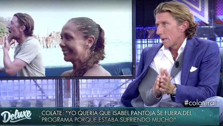 Colate da su opinión sobre Isabel Pantoja / Foto: Telecinco.es
