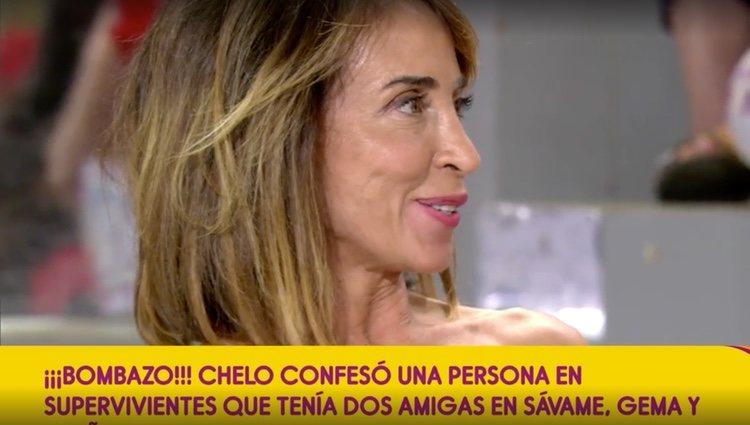 María Patiño responde a Chelo García Cortés / Foto: Telecinco.es