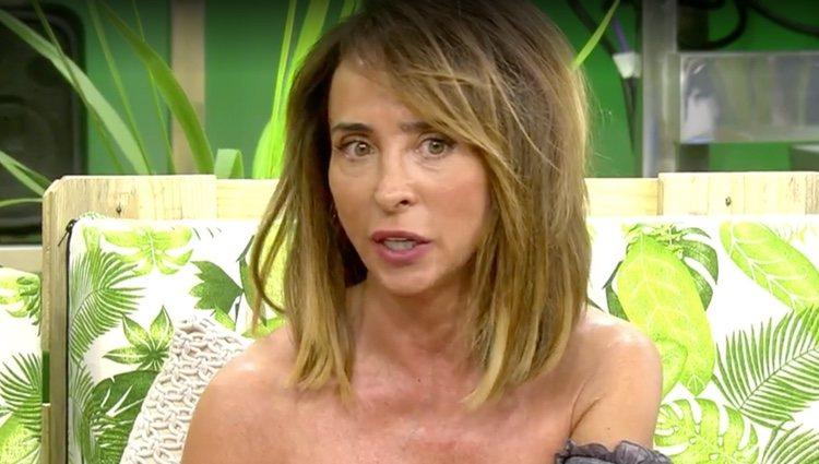 María Patiño lanza una pulla a Chelo García Cortés / Foto: Telecinco.es