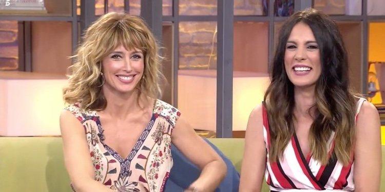 Emma García y Alicia Senovilla en 'Viva la vida' | Foto: Telecinco.es