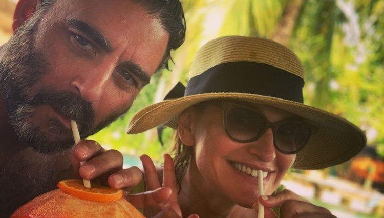 Ainhoa Arteta y su marido de luna de miel |Instagram
