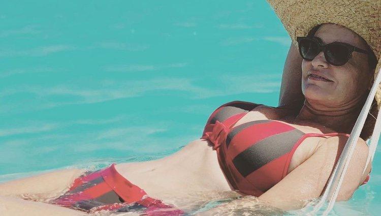 Ainhoa Arteta en la playa | Instagram