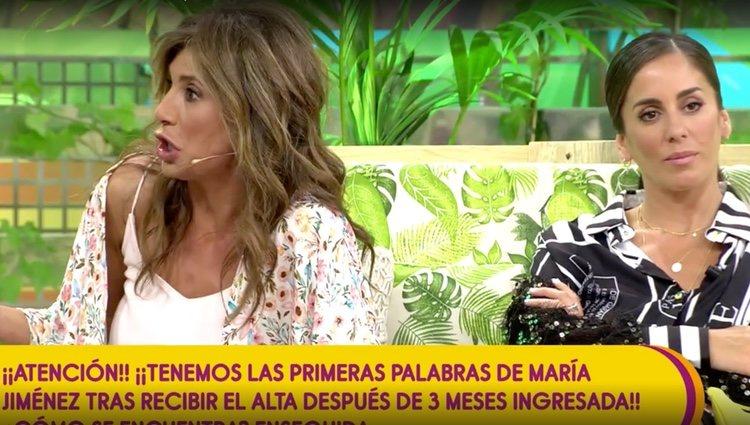 Gema López responde a Anabel Pantoja / Foto: Telecinco.es