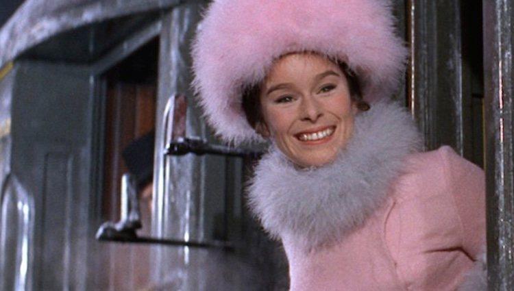 Geraldine Chaplin en un fotograma de 'Doctor Zhivago'