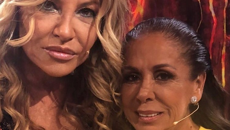 Cristina Tárrega e Isabel Pantoja en 'Superviviventes 2019'