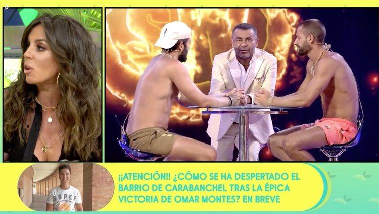 Anabel Pantoja hablando de Omar Montes en 'Sálame' Foto: Telecinco