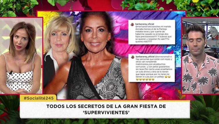 'Socialité' encontró los comentarios en Instagram | Foto: Telecinco.es