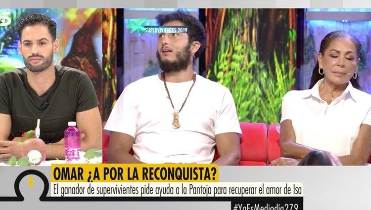Asraf Beno viendo las imágenes de Isabel Pantoja | Foto. telecinco.es