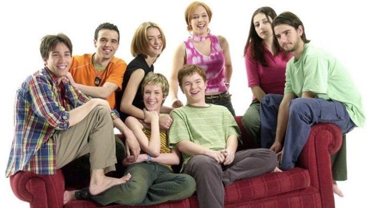 Foto promocional del reparto de 'Compañeros'