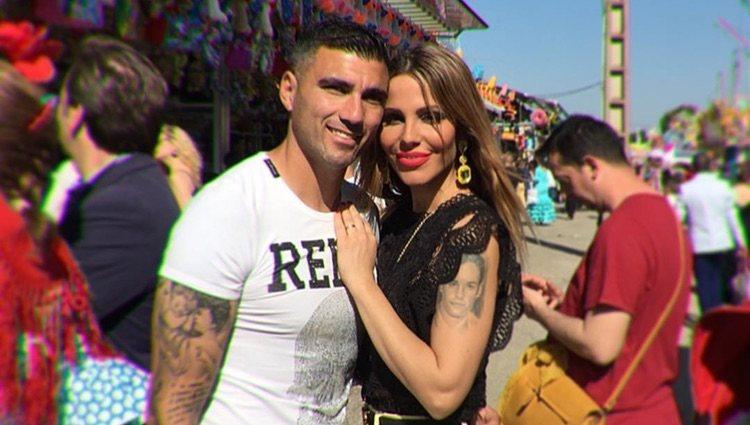 Noelia López y José Antonio Reyes / Foto: Instagram