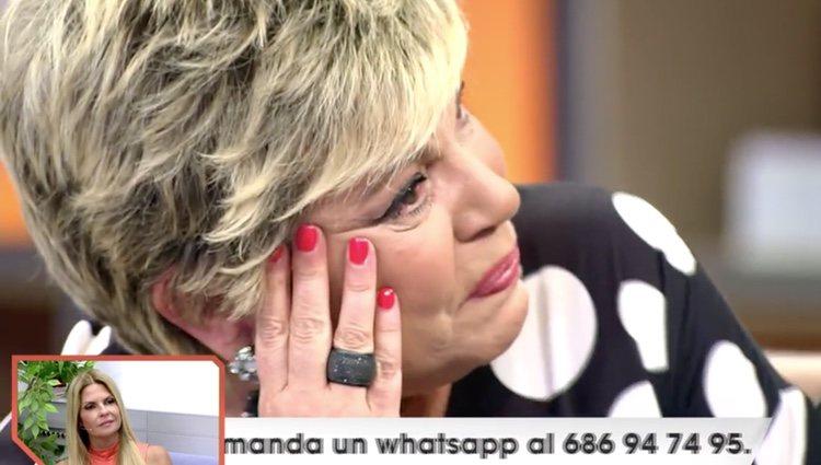 Terelu Campos se derrumba en 'Viva la vida / Foto: Telecinco.es