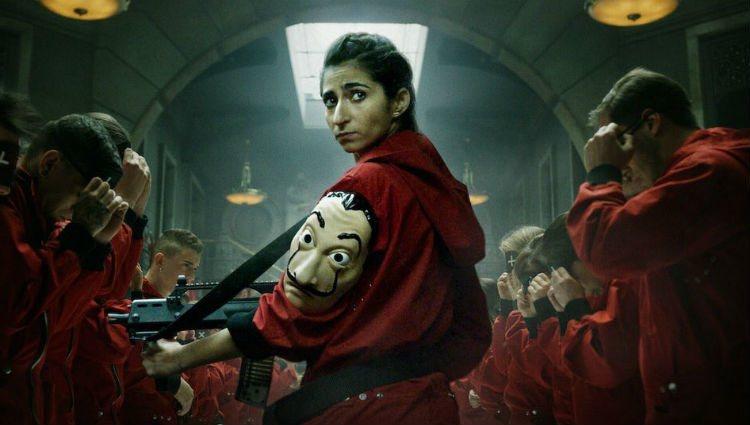 Alba Flores como Nairobi en la serie 'La casa de papel' | Netflix