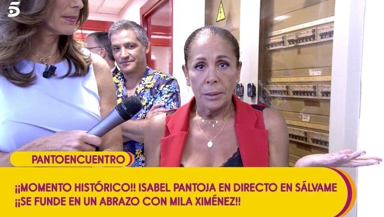 Isabel Pantoja habla sobre su paso por Telecinco |Foto: telecinco.es
