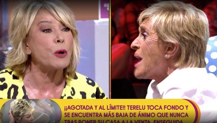Chelo García Cortés y Mila Ximénez discuten / Foto: Telecinco.es