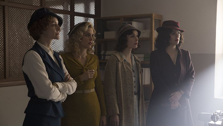 Imagen de la nueva temporada de 'Las chicas del cable'