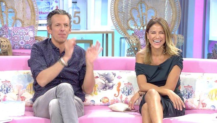 Joaquín Prat y Mónica Hoyos en 'El programa del Verano' | Telecinco.es