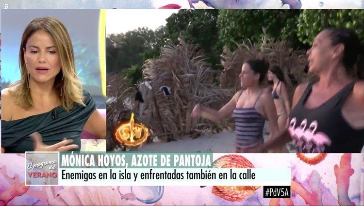 Mónica Hoyos en 'El programa del Verano' | Telecinco.es