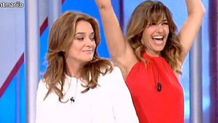 Toñi Moreno y Mariló Montero en TVE