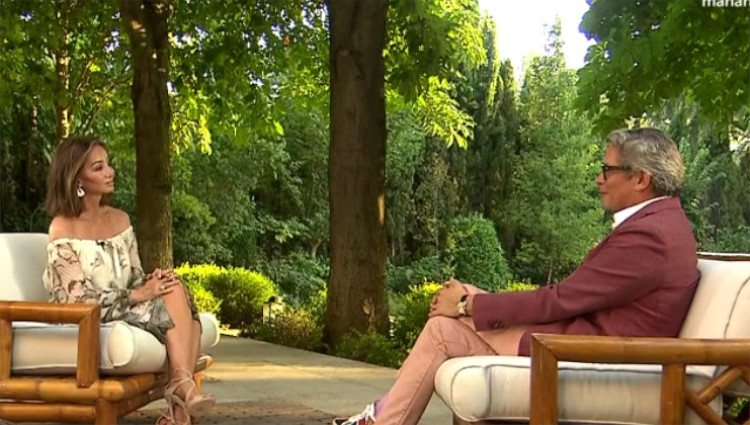 Boris Izaguirre entrevista a Isabel Preysler para 'Lazos de sangre'/Foto: TVE