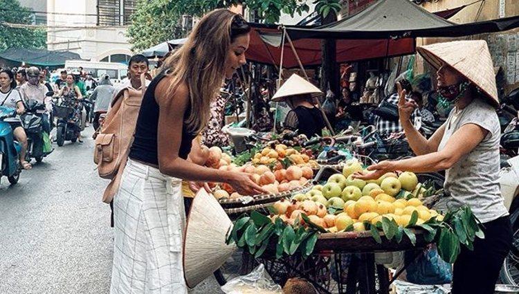 Lara Álvarez en Hanoi, Vietnam/Foto: Instagram