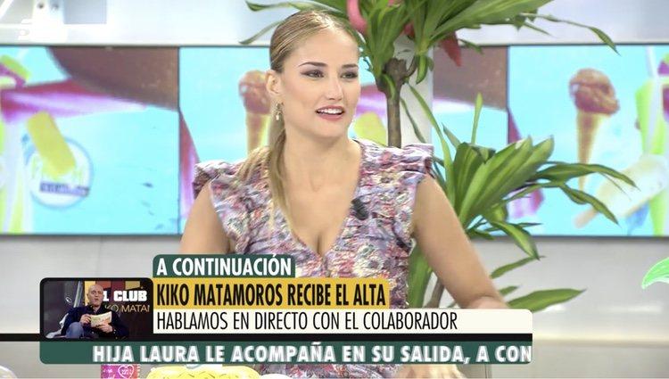 Alba Carrillo en 'Ya es mediodía'/ Foto: telecinco.es