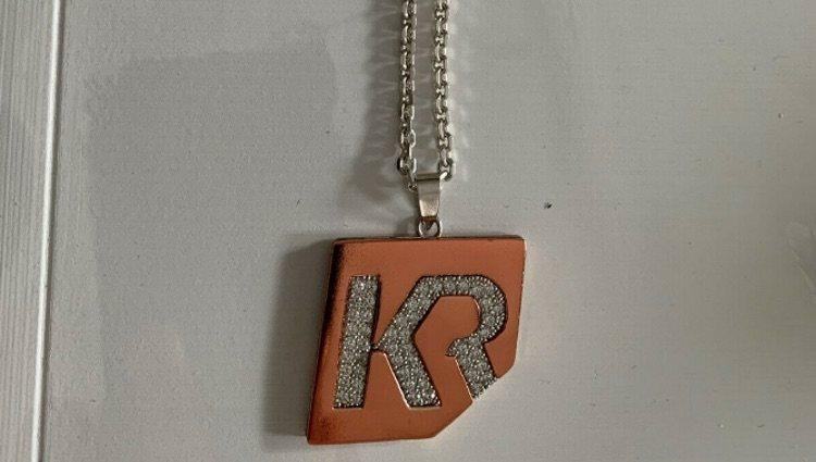El collar a la venta en la subasta de eBay / Foto: eBay.es