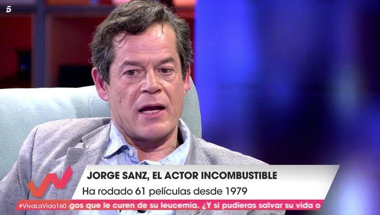Jorge Sanz en 'Viva la Vida' / Foto: telecinco.es