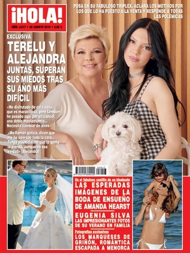 Alejandra Rubio y Terelu Campos en Hola