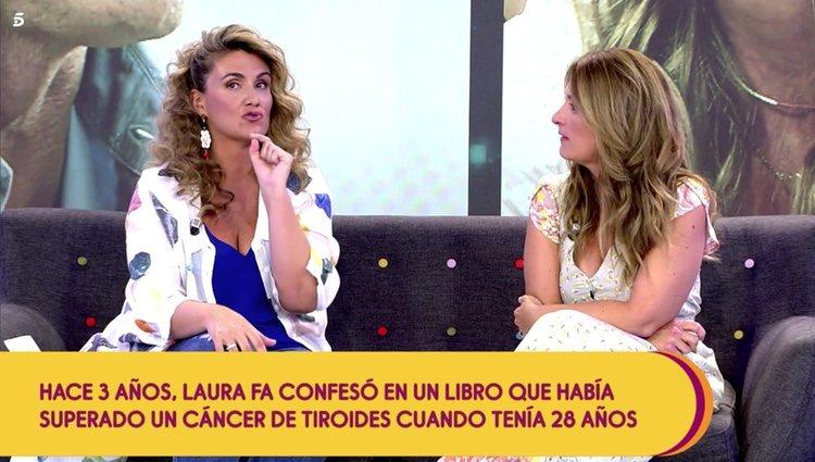 Carlota Corredera pregunta por última vez a Laura Fa sobre su opinión con respecto a las afirmaciones de Kiko Matamoros en 'Sálvame' Foto: Telecinco