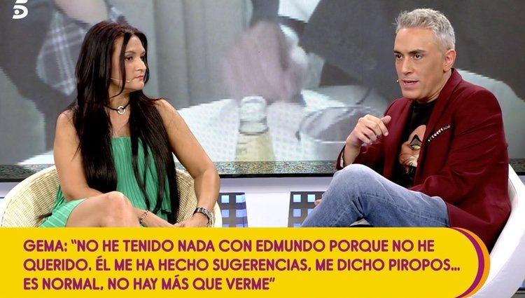 Gema Serrano habla de los mensajes de Bigote Arrocet | Foto: telecinco.es