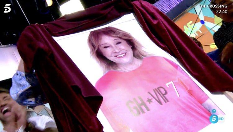 La confirmación de Mila Ximénez en 'GH VIP 7' / Telecinco.es