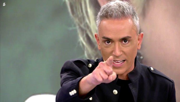 Kiko Hernández interpela de manera directa a Terelu Campos en 'Sálvame' Foto: Telecinco