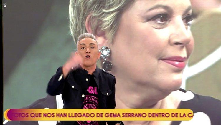 Kiko Hernández manda un contundente mensaje a Terelu Campos en 'Sálvame' Foto: Telecinco